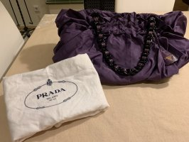 Prada Bolso de compra violeta oscuro