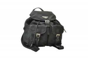 Prada Vintage Nylon Backpack Knapsack