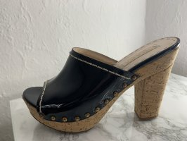 Prada Wedges Lackleder 37
