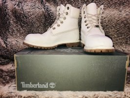 Timberland Lace-up Boots cream