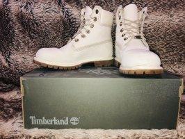 Timberland Aanrijg laarzen room