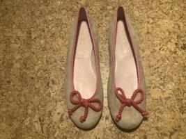 Pretty ballerinas Classic Ballet Flats raspberry-red-nude