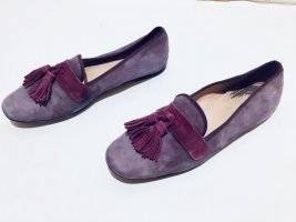 Pretty Ballerinas Loafers violett Suede Gr.36,5