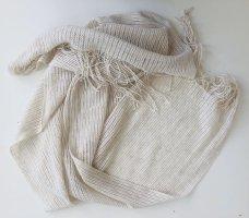 Pimkie Écharpe d'été blanc cassé-beige coton