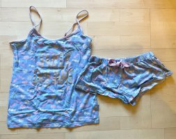 Primark Pyjama light pink-baby blue