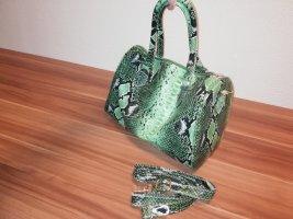 Primark Schlangenmuster Handtasche bowling bag