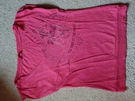 Print-T Shirt mit Strasssteinchen (Esprit)