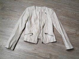 Promod  Jacke 34 36 weiß Creme beige