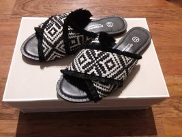 Promod Sandalen überkreuzt Boho Stil