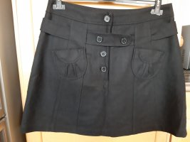 Promod Wool Skirt black