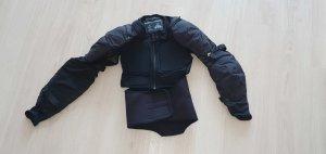 Polo Kurtka typu biker czarny Tkanina z mieszanych włókien
