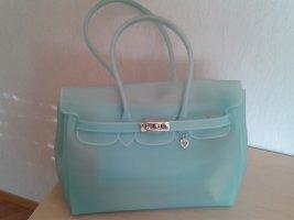 Bellissima Carry Bag turquoise polyurethane