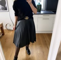 1.2.3 Paris Plaid Skirt black