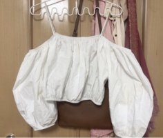 Zara Hauts épaule nues blanc