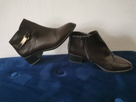 Pull and bear Lack stiefeletten