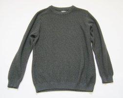 Pull & Bear Damen Pullover Strickpullover anthrazit Gr. S 36 neuwertig