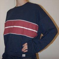 Pull&bear Sweatshirt navy/rot
