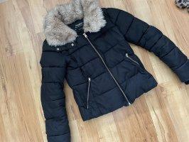 Pull & Bear Kurtka zimowa czarny