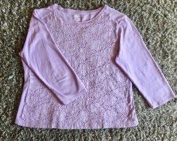 Croft&Barrow Short Sleeve Sweater purple cotton