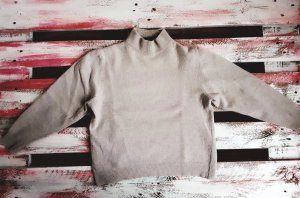 Vintage Wool Sweater natural white-cream