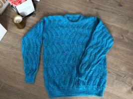 Coarse Knitted Sweater multicolored mixture fibre