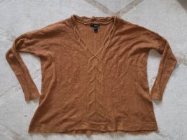 Pulli Mohair/Wolle/Tierhaar Wolle Caramel