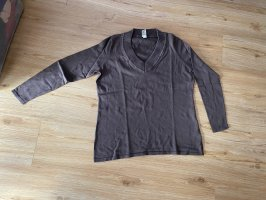 b.c. best connections Pull en maille fine taupe