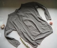 Athmosphere Oversized Sweater grey viscose