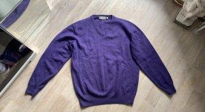 Christian Berg Maglione di lana viola scuro