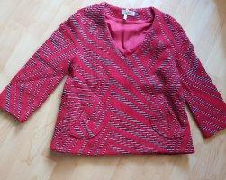 Ba&sh Sweter z dekoltem w kształcie litery V Wielokolorowy Wełna