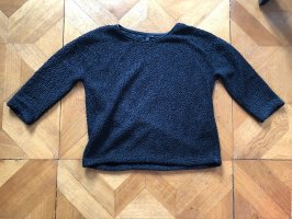 COS Kraagloze sweater zwart