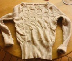 Fornarina Cable Sweater cream-beige
