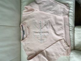 Calvin Klein Jeans Polarowy sweter różany