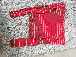 Takko Vestido tipo jersey rojo