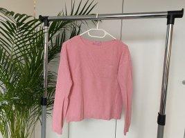 Alive Jersey de cuello redondo rosa claro-rosa