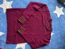 Etro Sweter z okrągłym dekoltem purpurowy