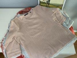 Zero Maglione a maniche corte rosa antico