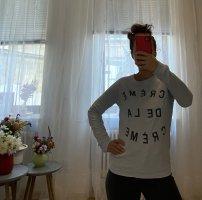 Zoe Karssen Maglione oversize azzurro