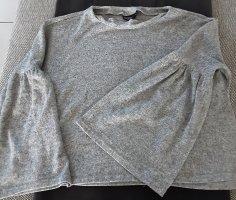 Pullover, grau,kastige Form, Größe 36