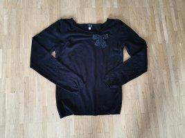 1.2.3. UN DEUX TROIS Paris Sweter z dzianiny czarny