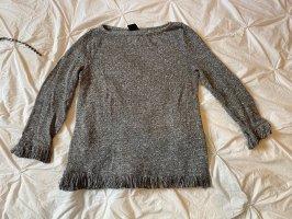 Pullover langarmshirt Fransen