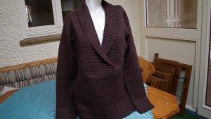 La Redoute Maglione di lana marrone scuro Acrilico