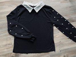 Pullover mit Perlenstickerei