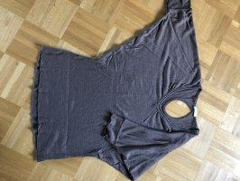Promod Short Sleeve Sweater grey brown