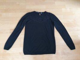 Pullover mit Spitze von Esprit Gr. M