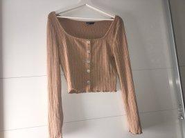 Pullover mit U-Form Ausschnitt