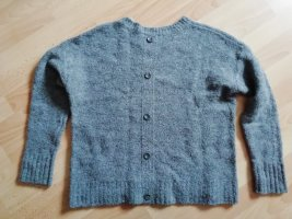 Esprit Maglione di lana grigio Lana
