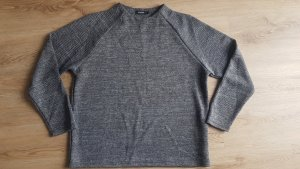 B.young Crewneck Sweater black-dark grey