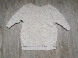 Pullover S Sweatshirt Sweater Strickpulli Amisu beige creme Nude