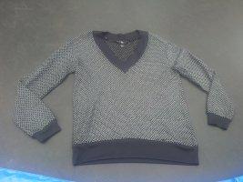 Pullover schwarz silber H&M Gr. M